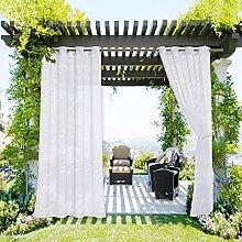 JMBF Patio Curtains Outdoor Waterproof Outdoor