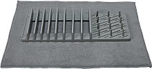 JML Drying Mat and Draining Rack - Grey