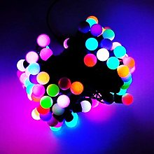 JnDee 10M 33Feets 100LED Colour Changing Flashing