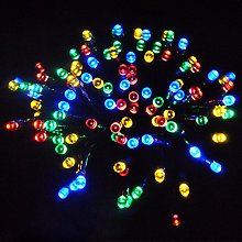 JnDee 200 LED Battery Powered Fairy Lights (Multi)