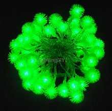 JnDee™ Green Blossoms Ball Battery Powered LED