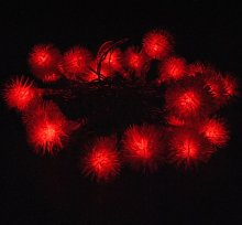 JnDee™ Red Blossoms Ball Battery Powered LED