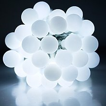 JnDee Waterproof Berry Ball Fairy Lights 10M + 8M