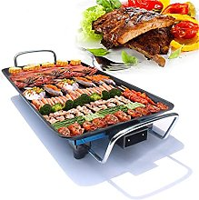 JNG Electric BBQ Grill Pan Smokeless Non-Stick