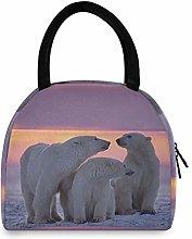 JNlover Animal Bear Insulated Lunch Bag Cooler