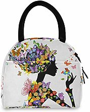 JNlover Colorful Animal Butterfly Insulated Lunch