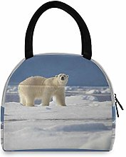 JNlover Funny Animal Bear Insulated Lunch Bag