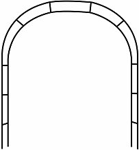 JNYB Garden Archs Metal Wrought Iron Decorative