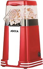 JOCCA 5617U Vintage Retro Hot Air Popcorn Maker