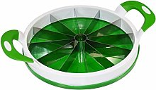 Jocca Watermelon Slicer, White/Green