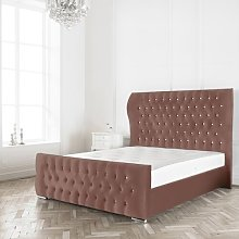 Jocelyn Upholstered Bed Frame Willa Arlo Interiors