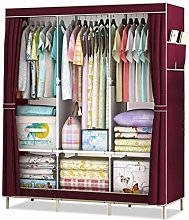 JOELELI Wardrobe Cupboard Clothes Storage