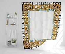 Joetta Polyester Shower Curtain Set Canora Grey