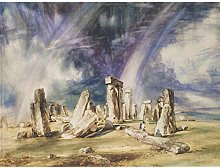 John Constable Stonehenge Extra Large Wall Art
