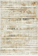 John Lewis & Partners Alora Rug, Gold/Silver, L340