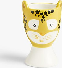 John Lewis & Partners Animals Leopard Egg Cup,
