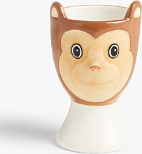 John Lewis & Partners Animals Monkey Egg Cup,