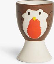 John Lewis & Partners Animals Robin Stoneware Egg