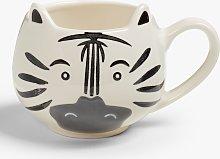 John Lewis & Partners Animals Zebra Mug, 250ml,