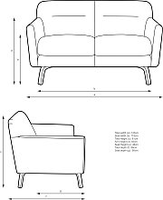 John Lewis & Partners Archie II Small 2 Seater Sofa