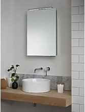 John Lewis & Partners Ariel Single Mirrored and