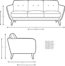 John Lewis & Partners Arlo Large 3 Seater Sofa