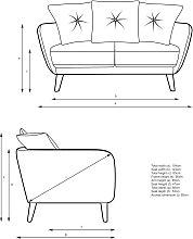 John Lewis & Partners Arlo Pillow Back Small 2