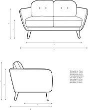 John Lewis & Partners Arlo Small 2 Seater Sofa