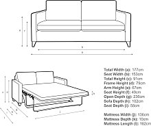 John Lewis & Partners Bailey Double Sofa Bed
