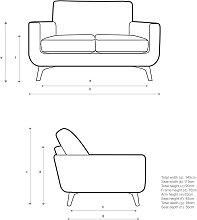 John Lewis & Partners Barbican Small 2 Seater Sofa