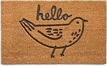 John Lewis & Partners Betty Bird Welcome Door Mat