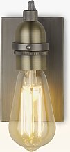 John Lewis & Partners Bistro Bulb Wall Light,