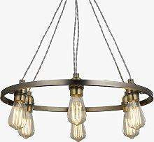 John Lewis & Partners Bistro Hoop Pendant Ceiling