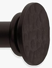 John Lewis & Partners Black Waxed Flat Disc