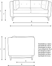 John Lewis & Partners Booth Small 2 Seater Sofa