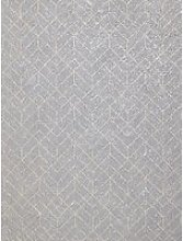 John Lewis & Partners Brushed Geometric Wallpaper,