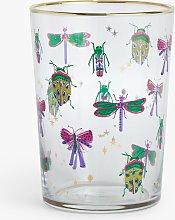 John Lewis & Partners Bugs Glass Highball, 510ml,