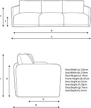 John Lewis & Partners Bundle Large 3 Seater Sofa