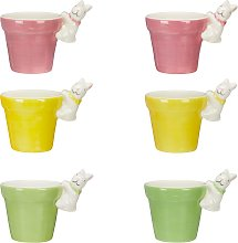 John Lewis & Partners Bunny Egg Cup, Assorted