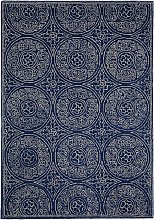 John Lewis & Partners Cadiz Rug, Blue, L120 x