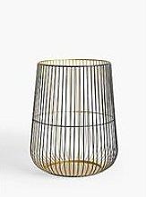John Lewis & Partners Cage Lantern Candle Holder,