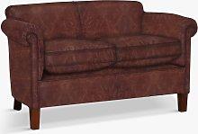 John Lewis & Partners Camford Petite Leather Sofa