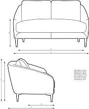 John Lewis & Partners Cape Small 2 Seater Sofa