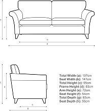 John Lewis & Partners Charlotte Large 3 Seater Sofa