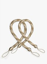 John Lewis & Partners Classic Rope Tieback, Silver