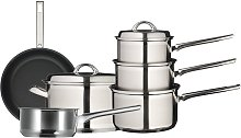 John Lewis & Partners Classic Stainless Steel 20cm