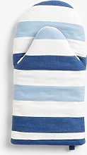 John Lewis & Partners Coastal Striped Oven Mitt,
