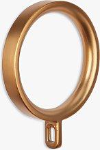 John Lewis & Partners Copper Curtain Rings,