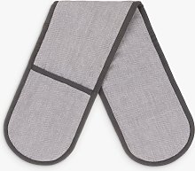 John Lewis & Partners Cotton Double Oven Glove,
