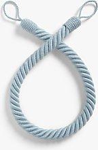 John Lewis & Partners Cotton Rope Tieback, Blue
